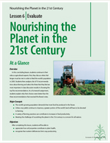 Nourishing the Planet for the 21st Century - resource cover