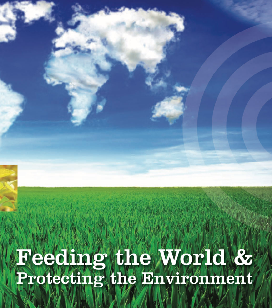 Feeding the World & Protecting the Environment - resource cover